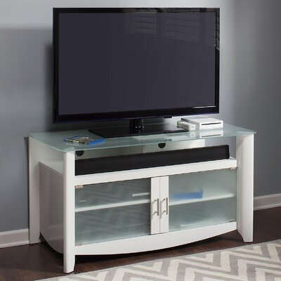 Wentworth 46 TV Stand Color: White