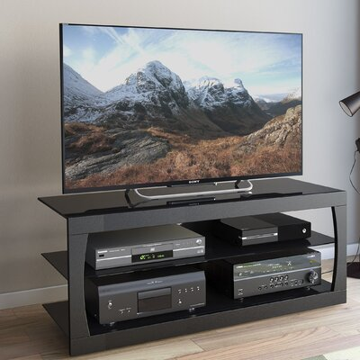 Lenore 54.5 TV Stand Color: Black, Width of TV Stand: 19 H x 54.5 W x 15.75 D