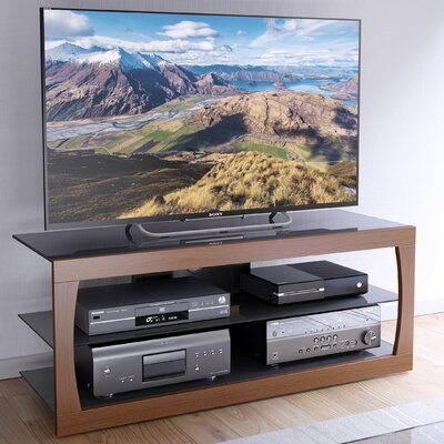 Lenore 54.5 TV Stand Color: Faux Teak, Width of TV Stand: 19 H x 47.25 W x 15.75 D