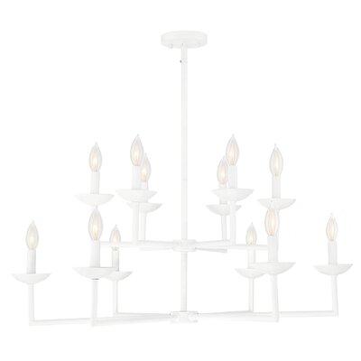 Athenais 12-Light Candle-Style Chandelier