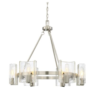 Rodrigues 6-Light Shaded Chandelier