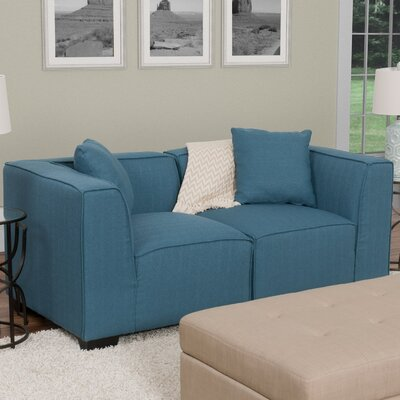 Randy Sectional Upholstery: Blue