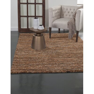 Rochester Rust/Orange/Brown Area Rug Rug Size: 53 x 76