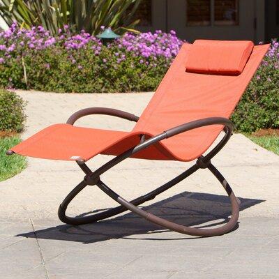 Kimmel Original Orbital Zero Gravity Chair Fabric: Orange