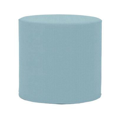 Contreras Sterling Pouf Upholstery: Breeze