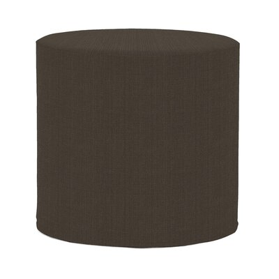 Contreras Sterling Ottoman Upholstery: Charcoal