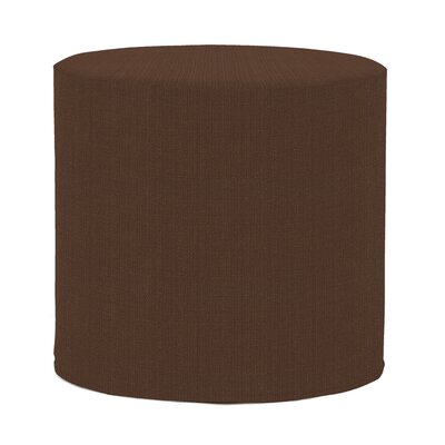 Contreras Sterling Pouf Upholstery: Chocolate