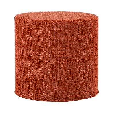 Contreras Coco Ottoman Upholstery: Coral
