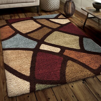 Andre Shag Area Rug Rug Size: 67 x 98