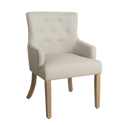 Myrtle Tufted Armchair Finish: Dijon