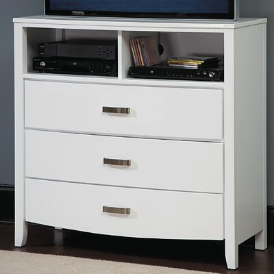 Rushmere 3 Drawer Media Chest