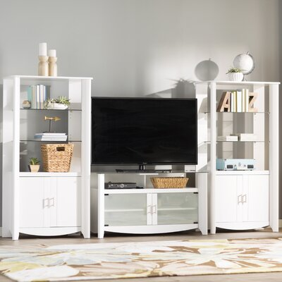 Wentworth Entertainment Center Color: Pure White