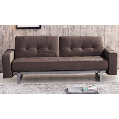 Mullaney Multi-Function Sofa Upholstery: Brown