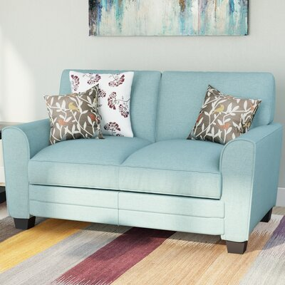 St Philips Loveseat Upholstery: Teal