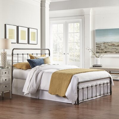 Cobden Panel Bed Size: California King