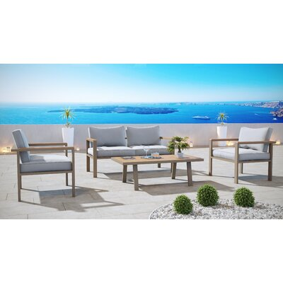 Seekonk 4 Piece Lounge Seating Group