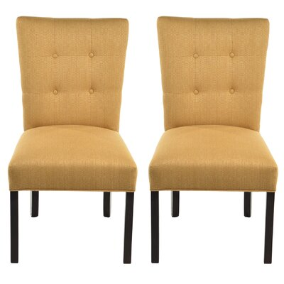 Deann Side Chair Upholstery: Candice Fawn