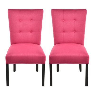 Deann Side Chair Upholstery: Candice Tulip