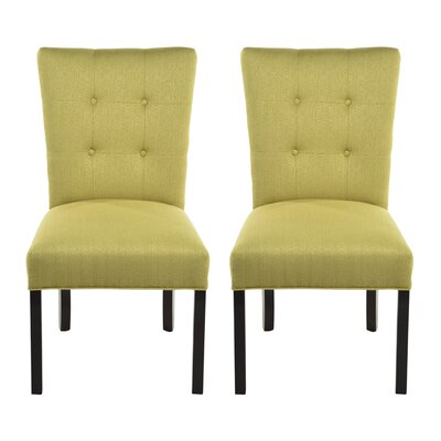 Deann Side Chair Upholstery: Candice Ivory