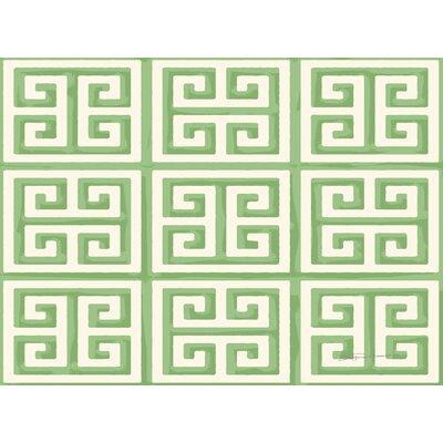 Kimura 2 Mint Area Rug Rug Size: 4 x 6