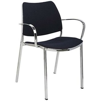 Callicoon Aluminum Arm Chair with Chrome Legs