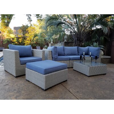 Chalmers 3 Piece Deep Seating Group With Cushion