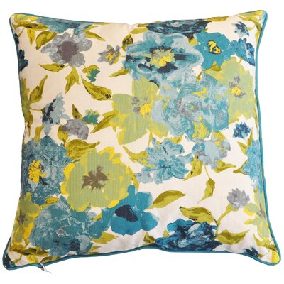 Demery Decorative 100% Cotton Throw Pillow