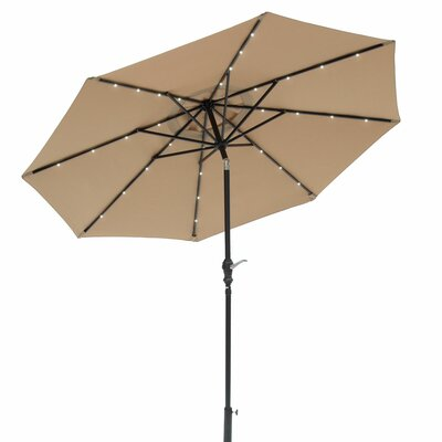 Zosia 9 Solar Lighted Illuminated Umbrella