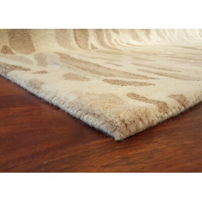 Buckleys Hand-Tufted Gray Area Rug Rug Size: 36 x 56
