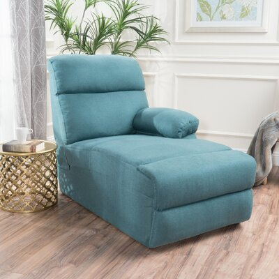 Rockford Chaise Lounge Upholstery: Dark Teal