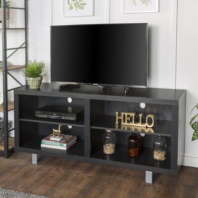 Depasquale 58 TV Stand Color: Black