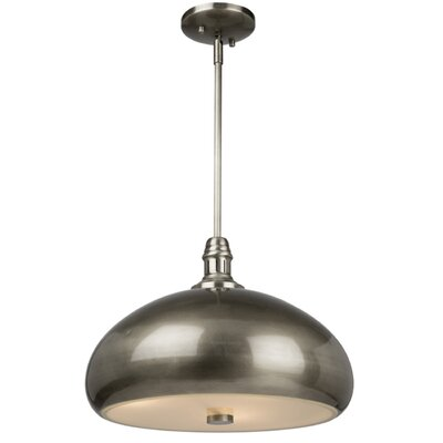 Madi 2-Light Bowl Pendant Finish: Brushed Nickel