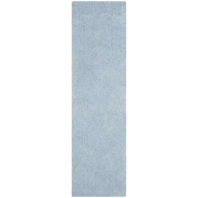 Winnett Hand-Tufted Light Blue Area Rug Rug Size: Runner 23 x 8