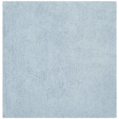 Winnett Hand-Tufted Light Blue Area Rug Rug Size: Square 5 x 5