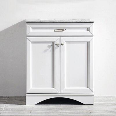Madi 30 Single Vanity Set Base Finish: White