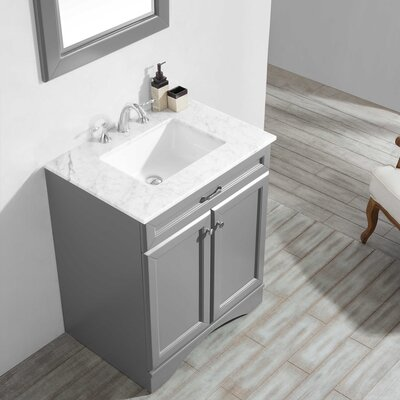 Jonina 30 Bathroom Vanity Set with Mirror