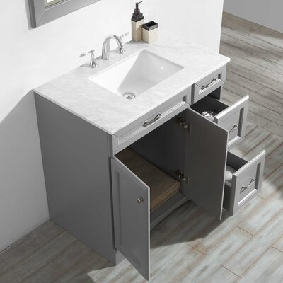 Jonina 36 Bathroom Vanity Set with Mirror