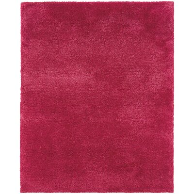 Albritton Handmade Pink Area Rug Rug Size: Rectangle 8 x 11