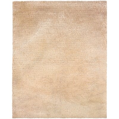 Albritton Handmade Beige Area Rug Rug Size: Rectangle 5 x 7