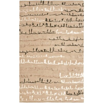 Woodburn Light Dark Beige / Light Dark Multi Contemporary Rug Rug Size: Rectangle 5 x 8