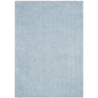 Winnett Hand-Tufted Light Blue Area Rug Rug Size: Rectangle 5 x 7