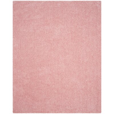 Winnett Hand-Tufted Pink Area Rug Rug Size: Rectangle 8 x 10