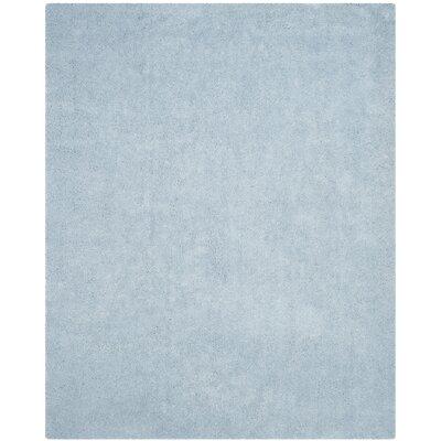 Winnett Hand-Tufted Light Blue Area Rug Rug Size: Rectangle 8 x 10