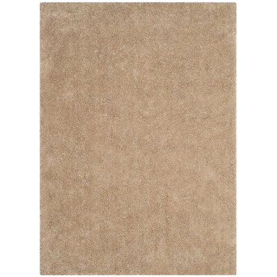 Winnett Hand-Tufted Beige Area Rug Rug Size: Rectangle 5 x 7