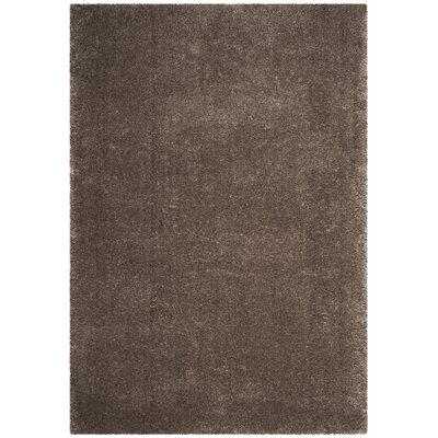 Schmitt Solid Gray Area Rug Rug Size: Rectangle 51 x 76