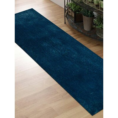 Ry Hand Tufted Aqua Indoor/Outdoor Area Rug Rug Size: 6 x 9