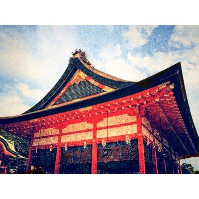 'Clear Water Kiyomizu-dera Temple, Kyoto, Japan' Photographic Print on Canvas