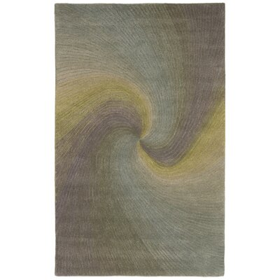 Richmond River Gray Waves Area Rug Rug Size: 8 x 10