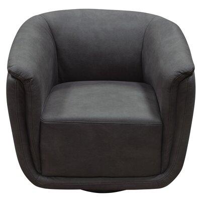 Halcott Swivel Barrel Chair Upholstery: Anthracite
