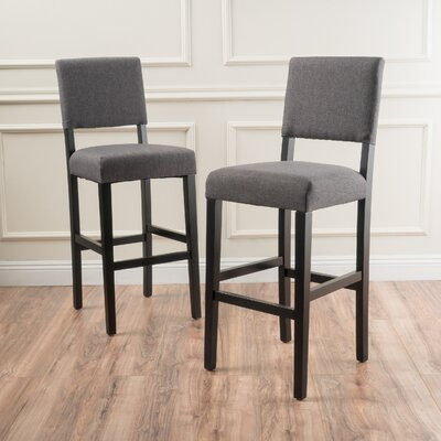 Murphy 29 Bar Stool Upholstery: Smokey Gray